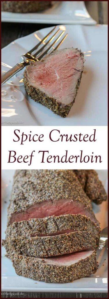 Spice Crusted Beef Tenderloin