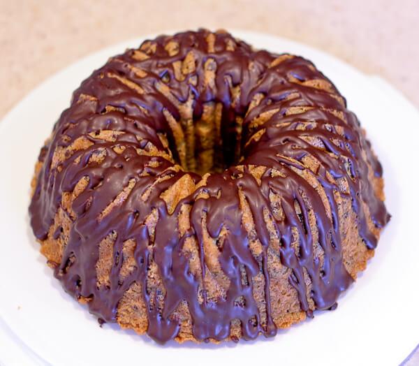 Chocolate Creme De Menthe Bundt Cake