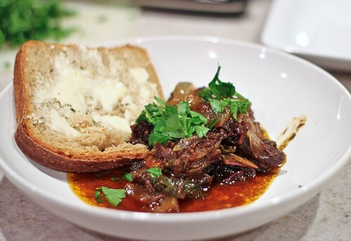 Kozani Braised Beef from Greece
