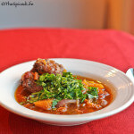 Oxtail Stew with Cinnamon, Star Anise, Orange and Gremolata