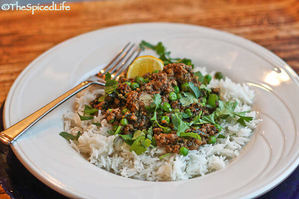 Kheema (Indian Ground Mushroom-Beef Curry) with Kale and Peas: Ode to ...