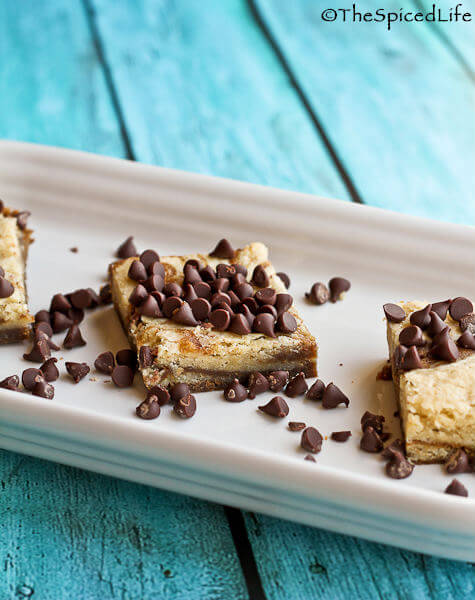 Espresso and Cream Swirled Café au Lait Bars