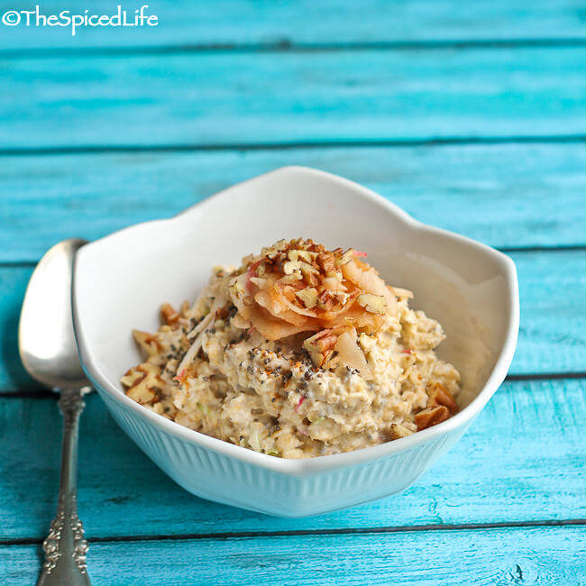 Low Sugar, Raw Apple Pie Muesli