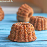 Whole Wheat Honey Spiced Apple Breakfast Bundtlettes: #BundtBakers