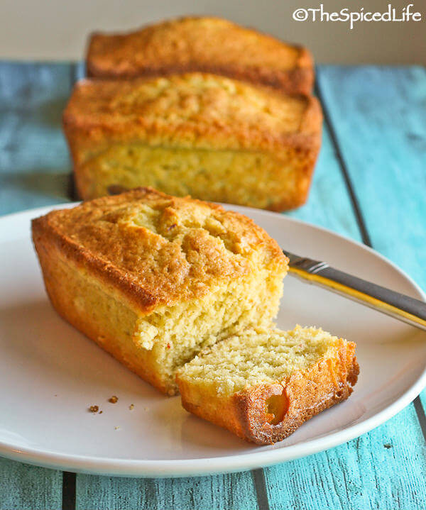 Saffron and Cardamom Olive Oil Pound Cake: moist, long lasting, and ...