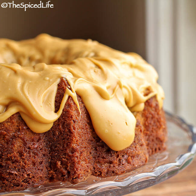 Butterscotch Pecan Bundt Cake with Salted Caramelized White Chocolate ...