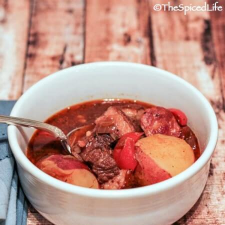 Cuban Spicy Oxtail Stew (Rabo Encendido): great for the slow cooker and can be made with brisket, chuck and short ribs as well!