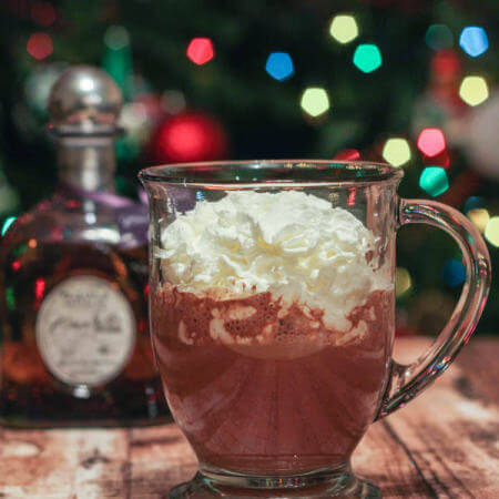 Tequila Spiked Sipping Chocolate