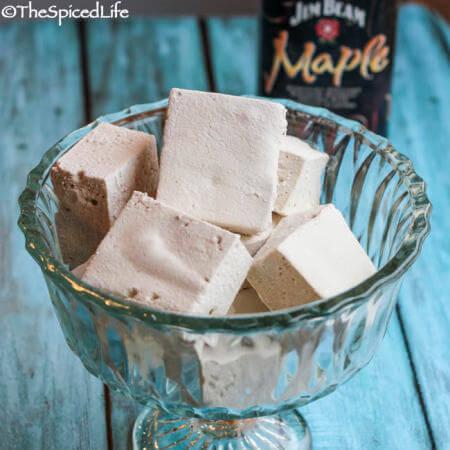 Salted Maple Bourbon Marshmallows 3