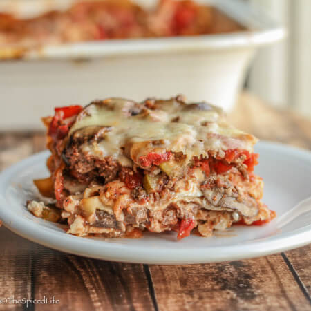 Lasagna with Mushrooms, Zucchini and Ground Beef 4 (1 of 1)