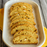 Citrus Olive Oil Biscotti with White Chocolate Chunks: #CreativeCookieExchange; Review of Ciao Biscotti