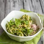 Spiralized Thai Cucumber Salad--a fun twist on a classic Thai salad!