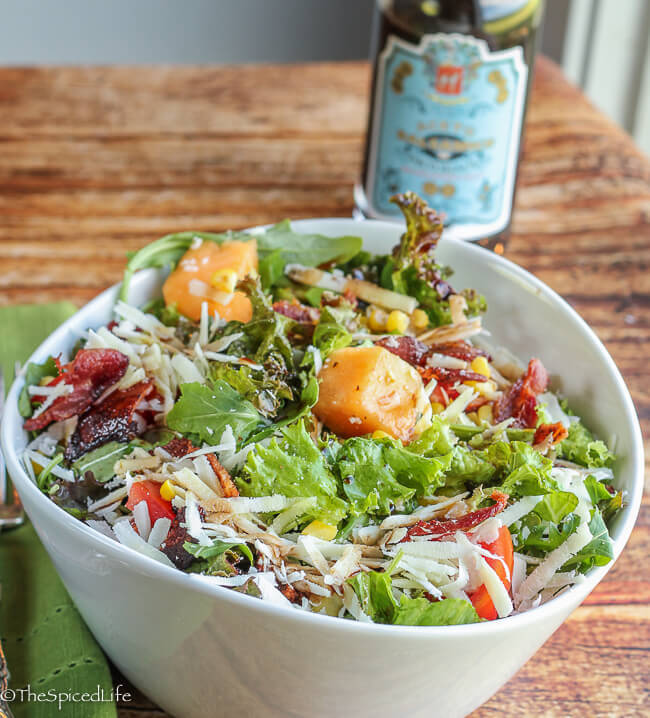 Southern Italian Style Arugula Salad! I learned to love these salads ...
