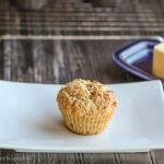 Lemon Poppy Seed Muffins with Cardamom Browned Butter: #MuffinMonday
