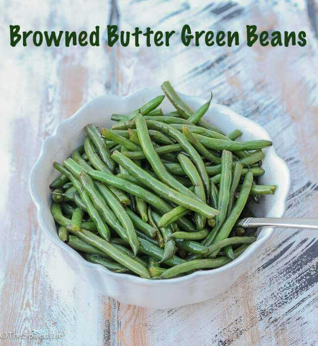 Browned Butter Green Beans
