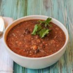 Vinegared Bean Soup: soup, stew or both?
