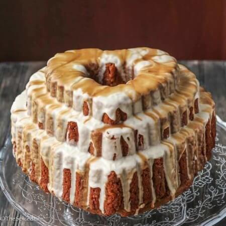 Espresso Kahlua Bundt Cake