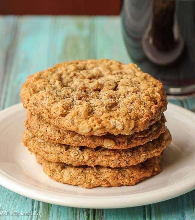 Sesame Oatmeal Cookies