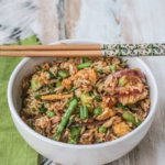 Asparagus Fried Rice: Review of Farm to Table: Asian Secrets