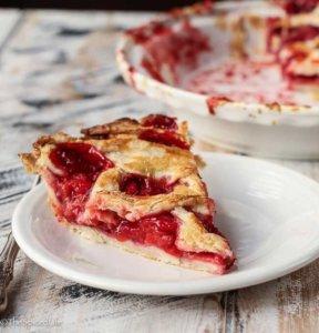 Strawberry Lemon-Lime Pie