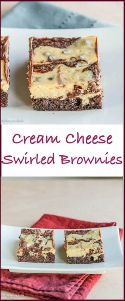 These Cream Cheese Swirled Brownies are a decadent family favorite--and sure to become one of your favorite desserts too!