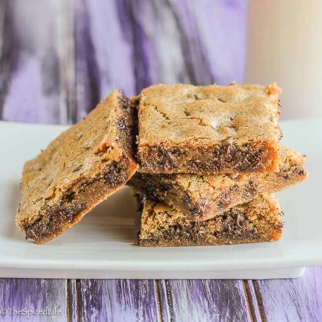 Best Blondies: this has been my tried and true standby recipe for at least a decade. My family adores these with just about any chip, chunk, nut or candy mixed in--you choose!