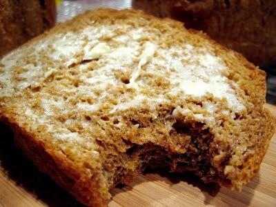 Buttered Anadama Bread