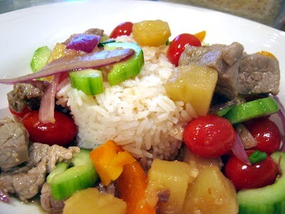 Thai Sweet and Sour with Pork