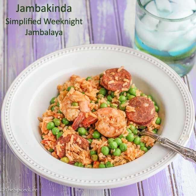 """Jambakinda:"" a simplified weeknight jambalaya"