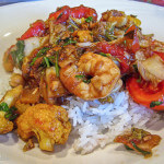 Stir Fried Tamarind Shrimp