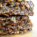 Molasses Ginger Granola Bars--delicious, easy, unique and allergy friendly!