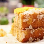 Cuban Mango Cake with Coconut and a review of A World Of Cakes