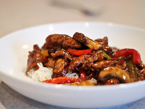 Zhurou chao mogu chinese pork and mushroom stir fry the spiced life the minute i saw this recipe forumfinder Image collections