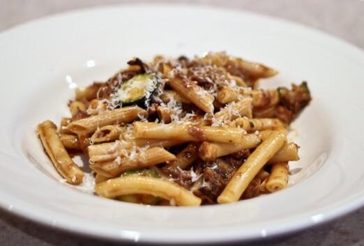 Pasta Alla Boscaiola AKA Italian Beef and Noodles