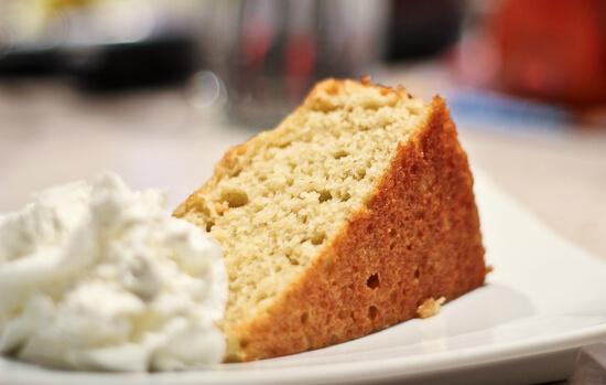 Cardamom Yogurt Cake
