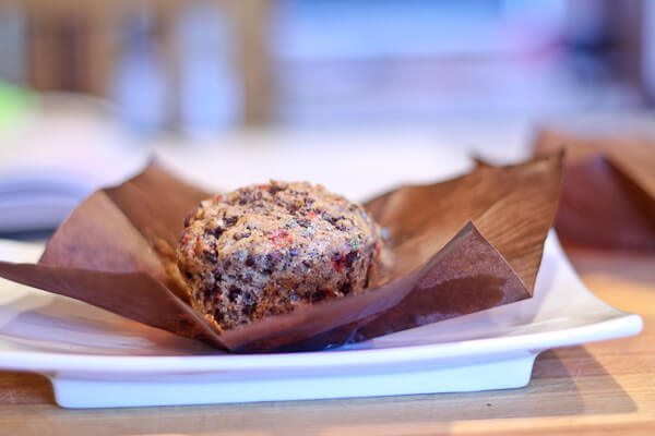 Chocolate Speckled Oat Muffins