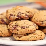 Dark Chocolate Chunk and Pistachio Cookies