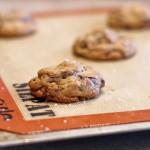 Pistachio and Dark Chocolate Chunk Cookies