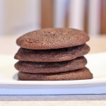 """""""Baked"""" Chocolate Cream Cheese Snacking Cookies"""
