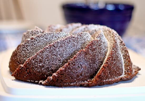 Earl Grey Chocolate Bundt Cake