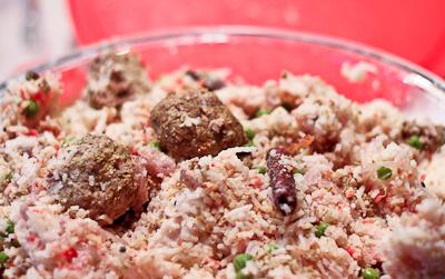 Bengali Meatballs with Saffron Rice