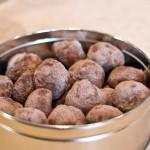 Chocolate Butter Balls AKA Lump of Coal Cookies