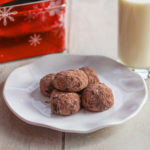 Chocolate Butter Ball Cookies