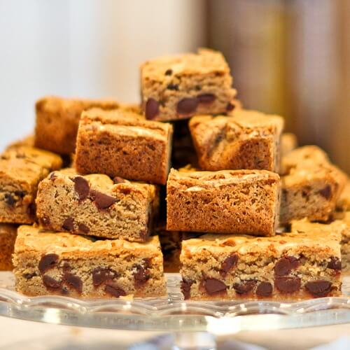 Salted Browned Butter Blondies