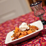 Curried Beans and Sweet Potatoes