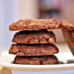 #ChocolateParty Double Chocolate Chip Cookies