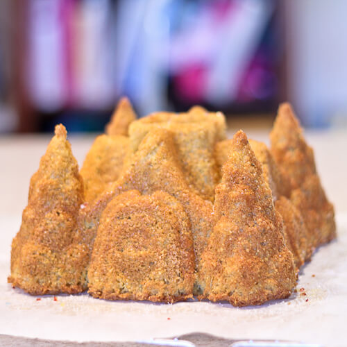 Rosemary Olive Oil Bundt Cake