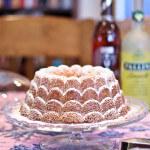 Orange Vanilla Bundt Cake with a Hint of Coconut