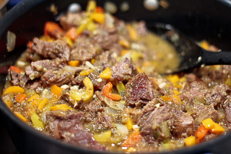 beef filling for tortilla casserole