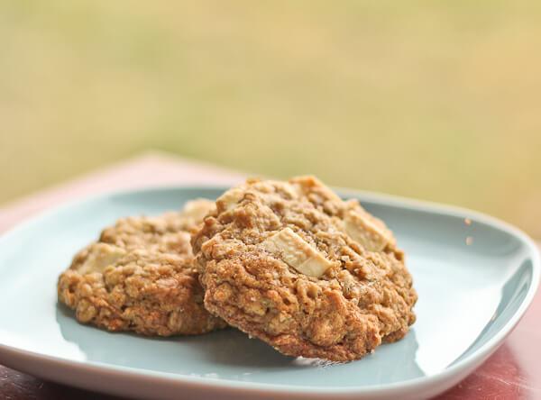 Vanilla Oatmeal Cookies